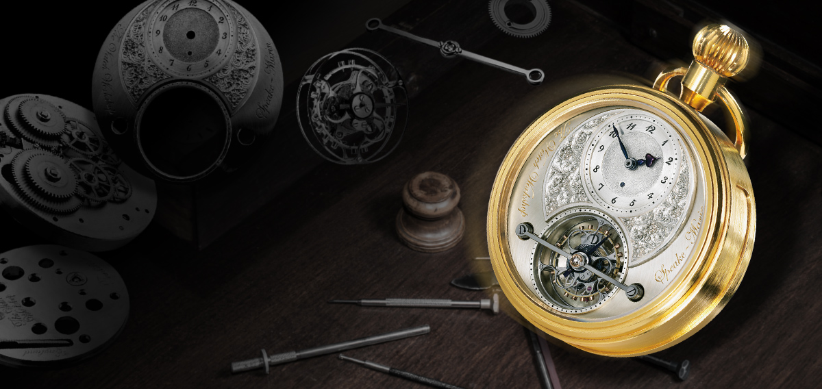Speake-Marin Foundation watch Tourbillon