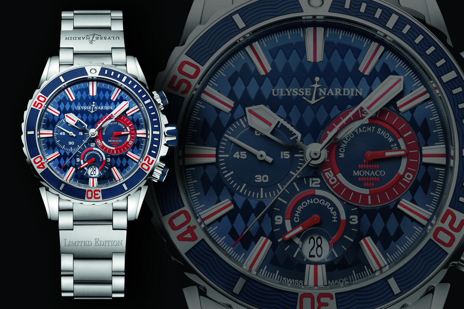 Ulysse Nardin Diver Chronograph Monaco Limited Edition