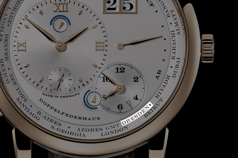Introducing - A  Lange & Söhne Lange 1 TimeZone Dresden