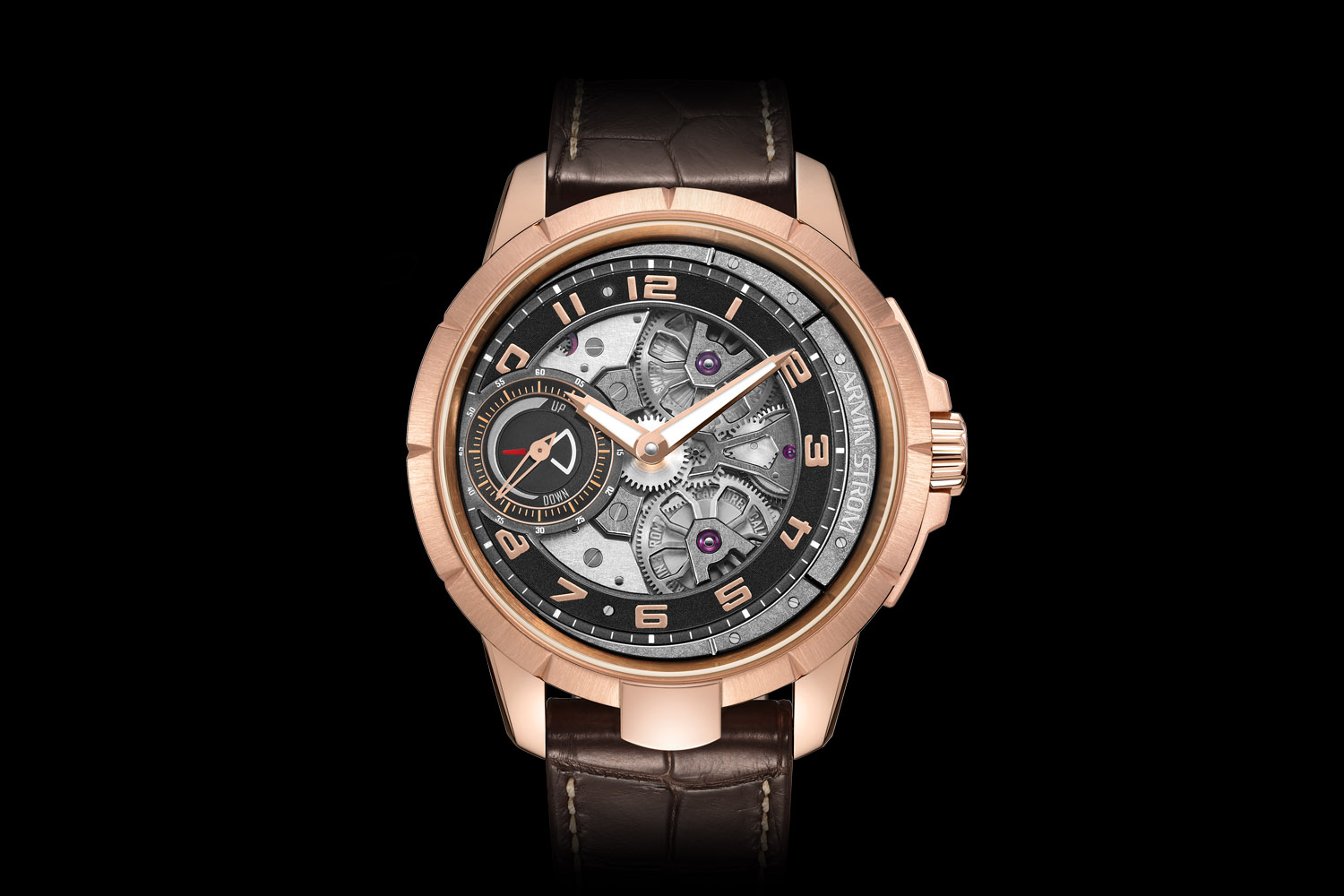 Armin Strom Edge Double Barrel Rose Gold
