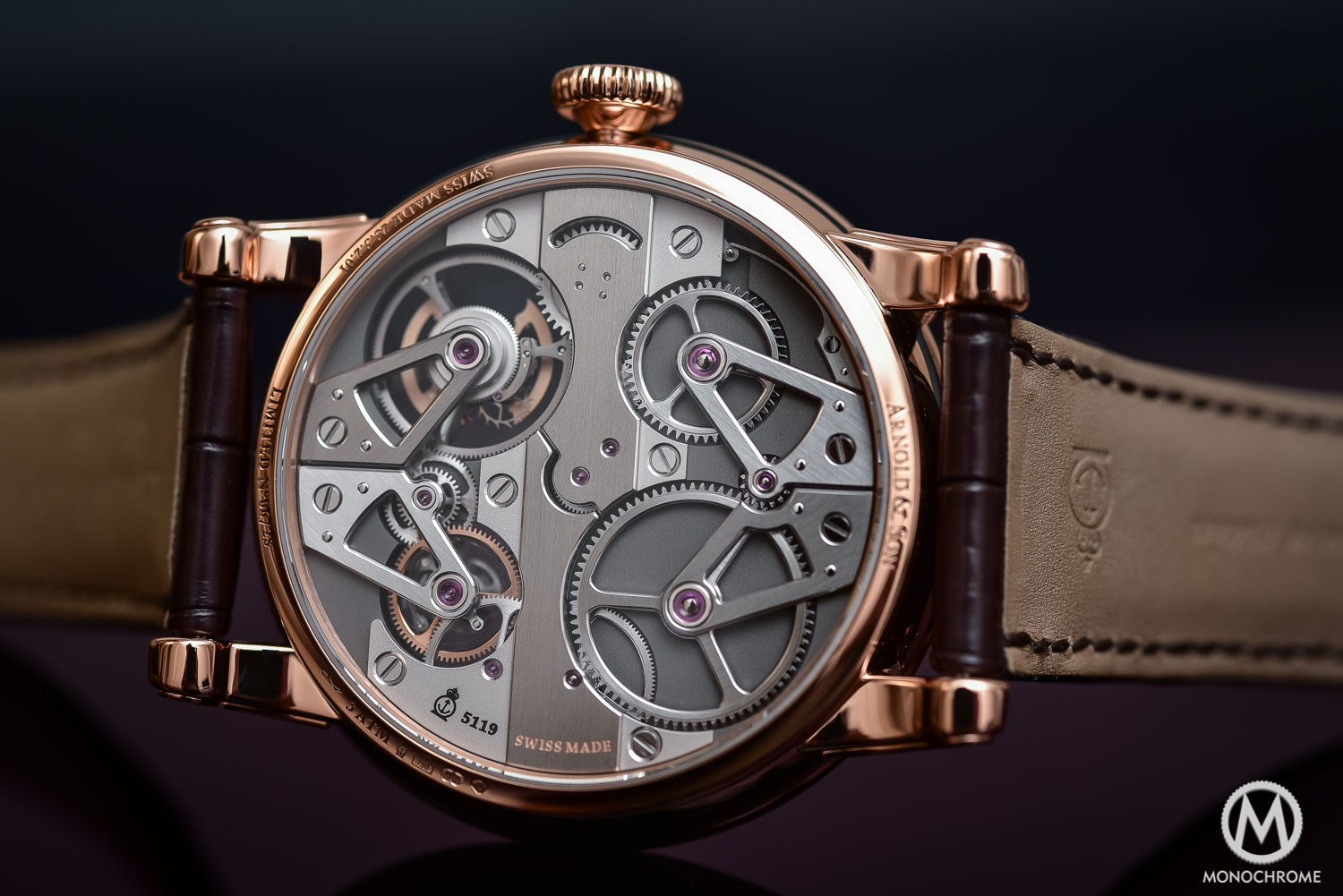 Arnold and Son Constant Force Tourbillon - Review