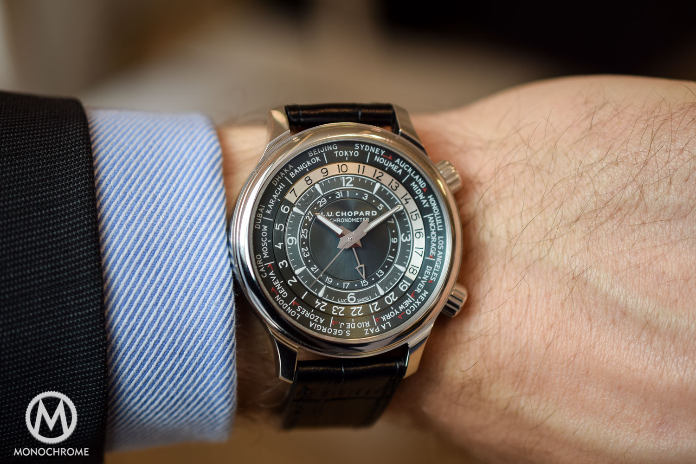 Chopard LUC Time Traveller One platinum