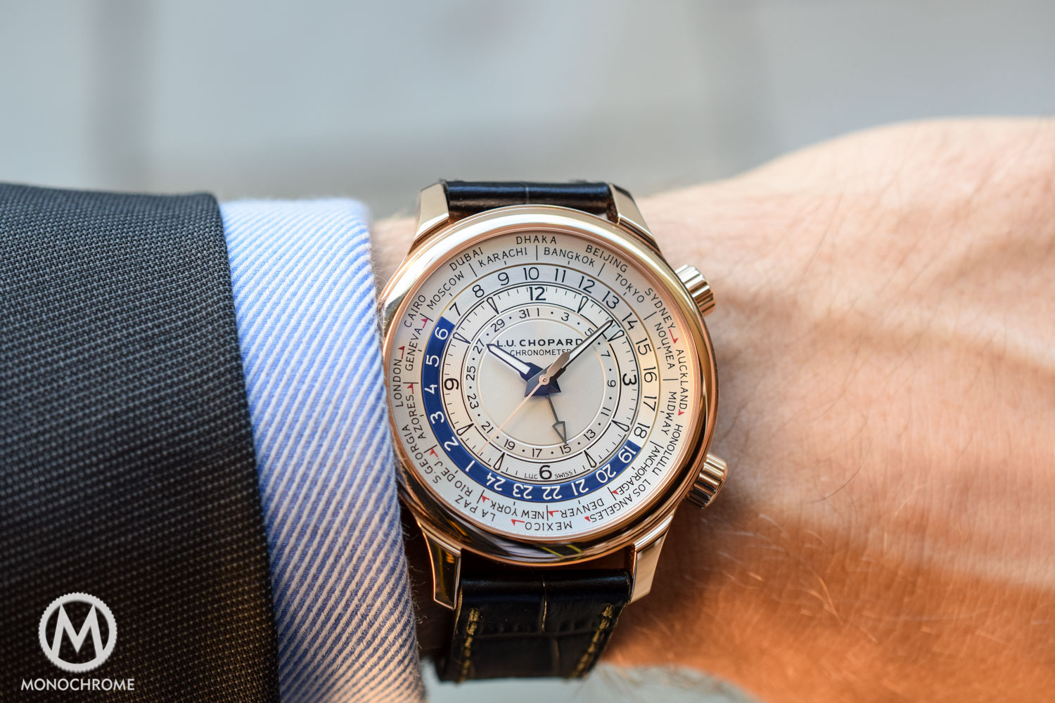 Chopard LUC Time Traveller One rose gold
