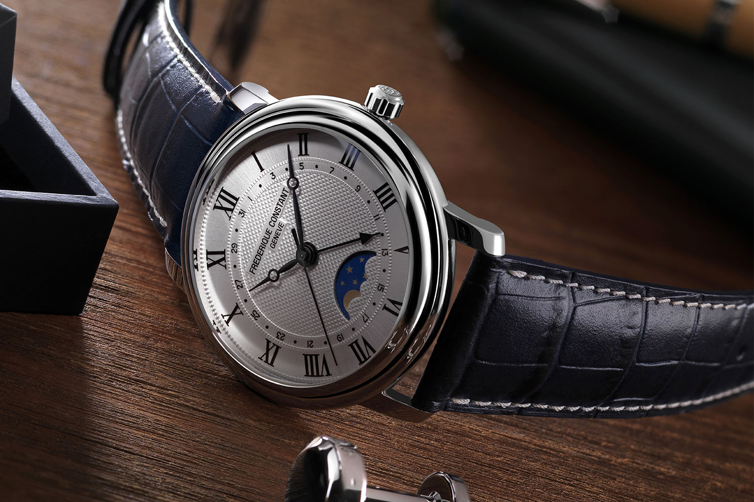 c766e6abea3 Accessible Luxury as defined by the new Frederique Constant Classics ...