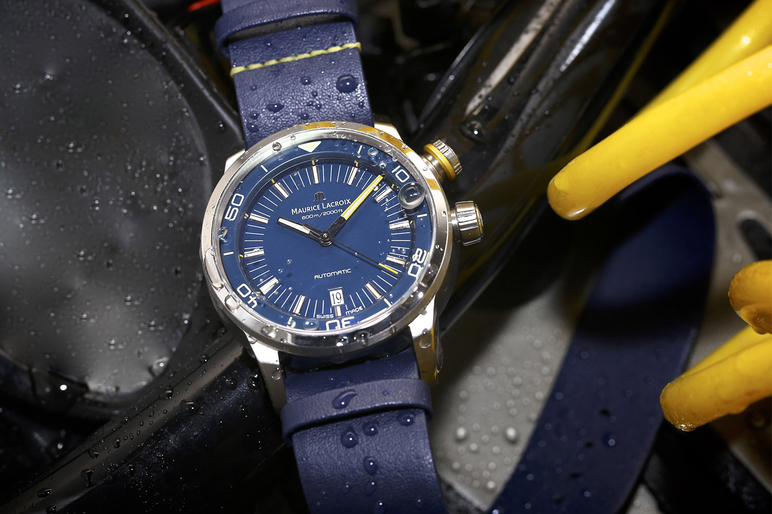 Maurice Lacroix Pontos S Diver Blue Devil Limited Edition North America