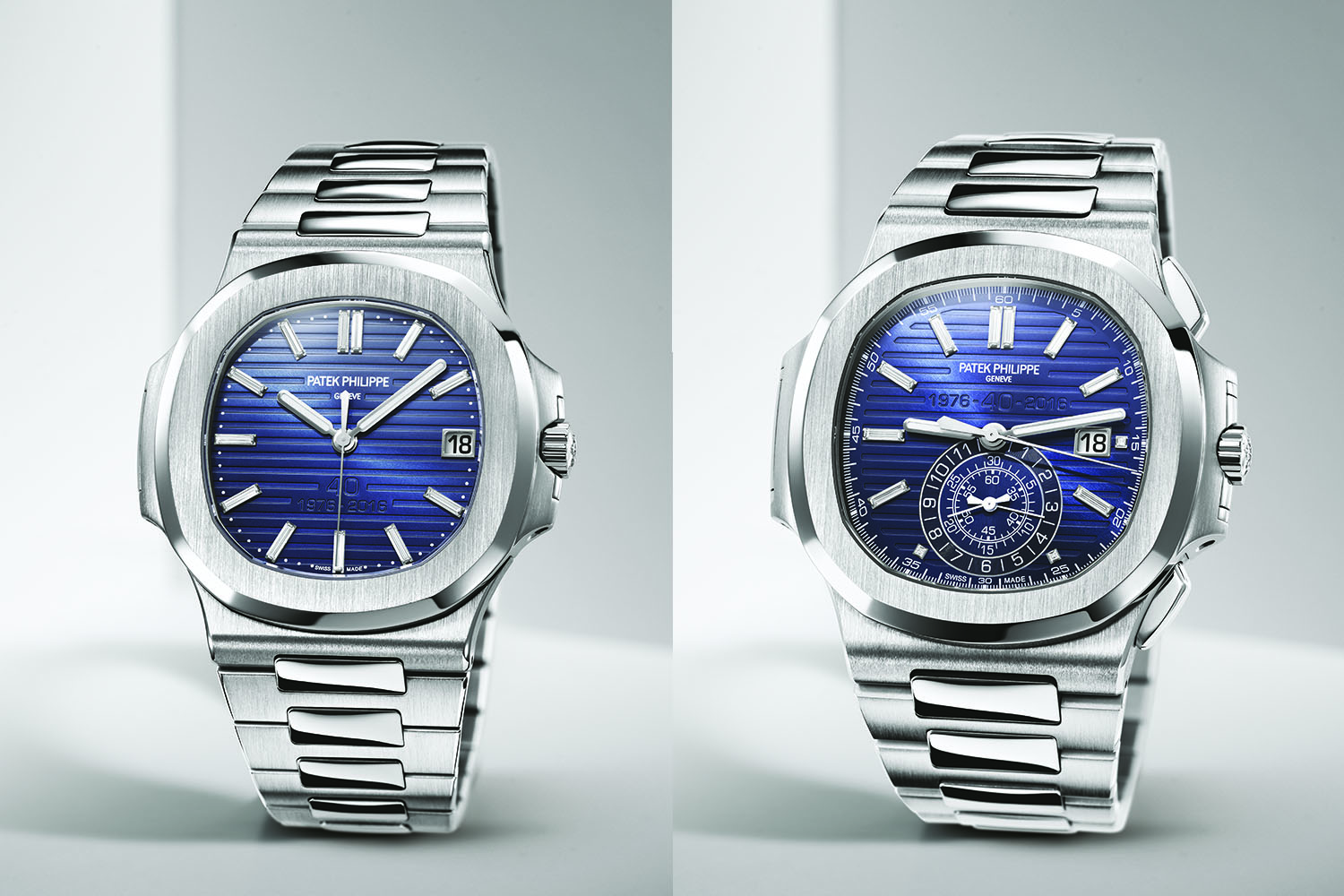 8207d44ddc0 Introducing - Patek Philippe Nautilus 40th Anniversary Editions ...