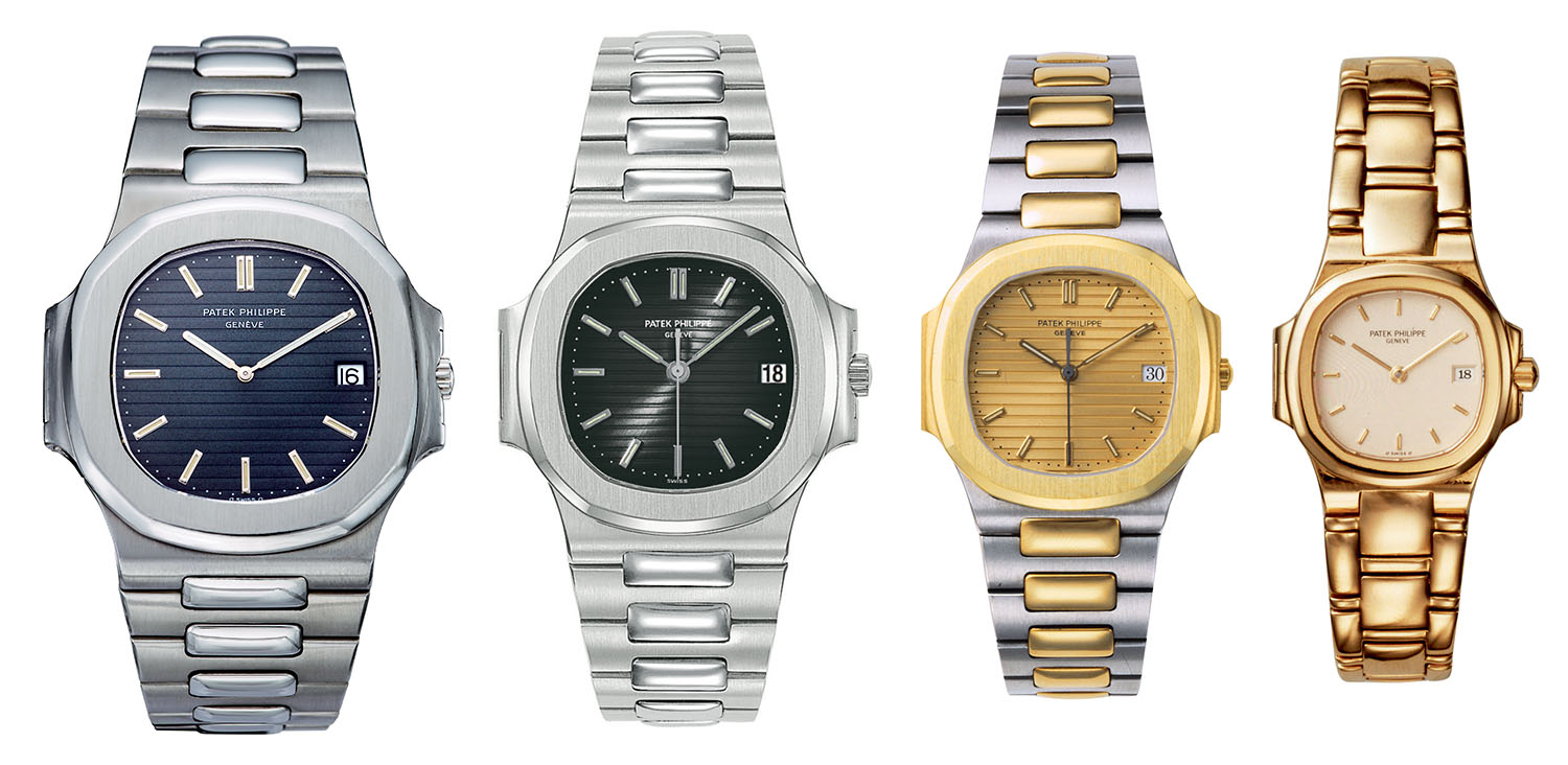 Patek Philippe Nautilus history - 1980s collection 3700 3800 3900 4700