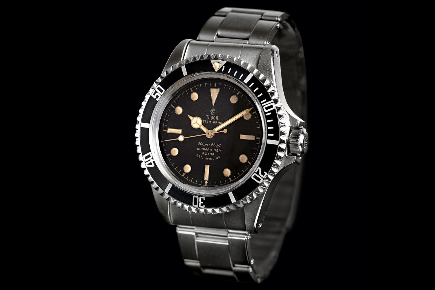 "Tudor Oyster Prince Submariner ""Square Crown Guards"" 7928"