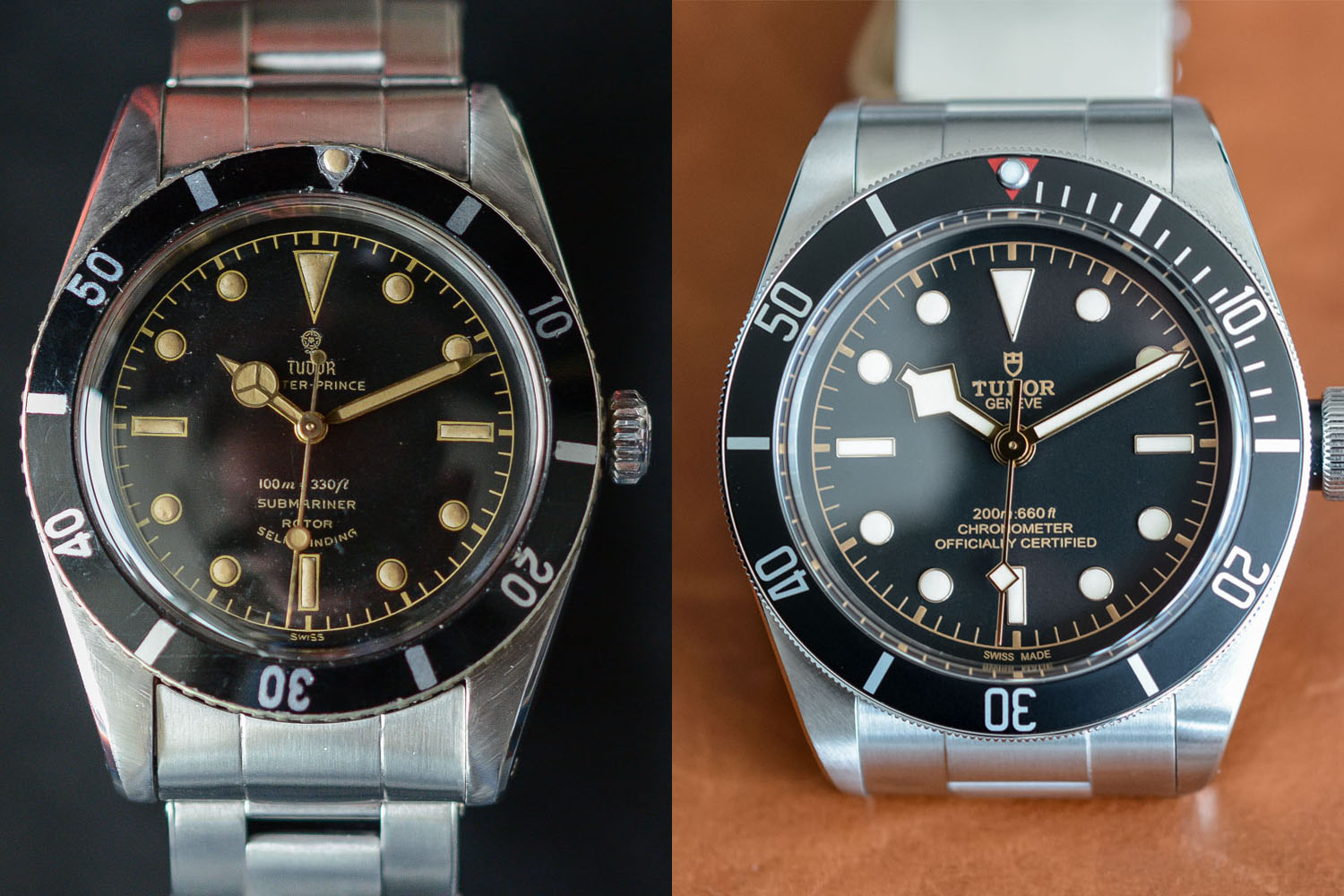 Tudor and its heritage - How vintage submariners inspired Tudor Black Bay
