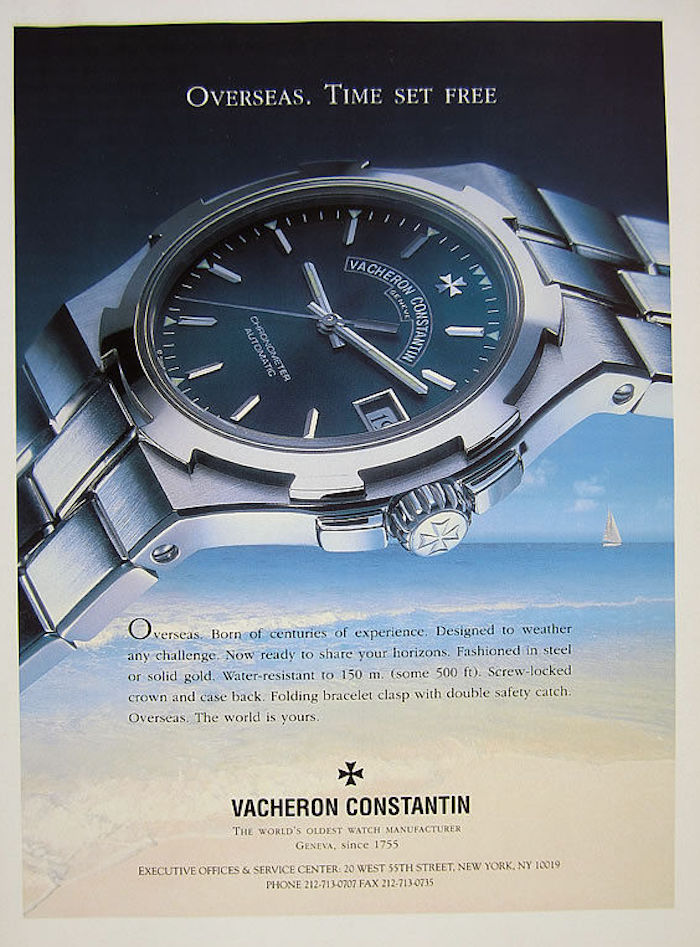 Vacheron Constantin Overseas history