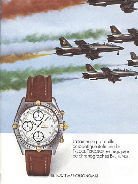 1986 Breitling Chronomat catalog