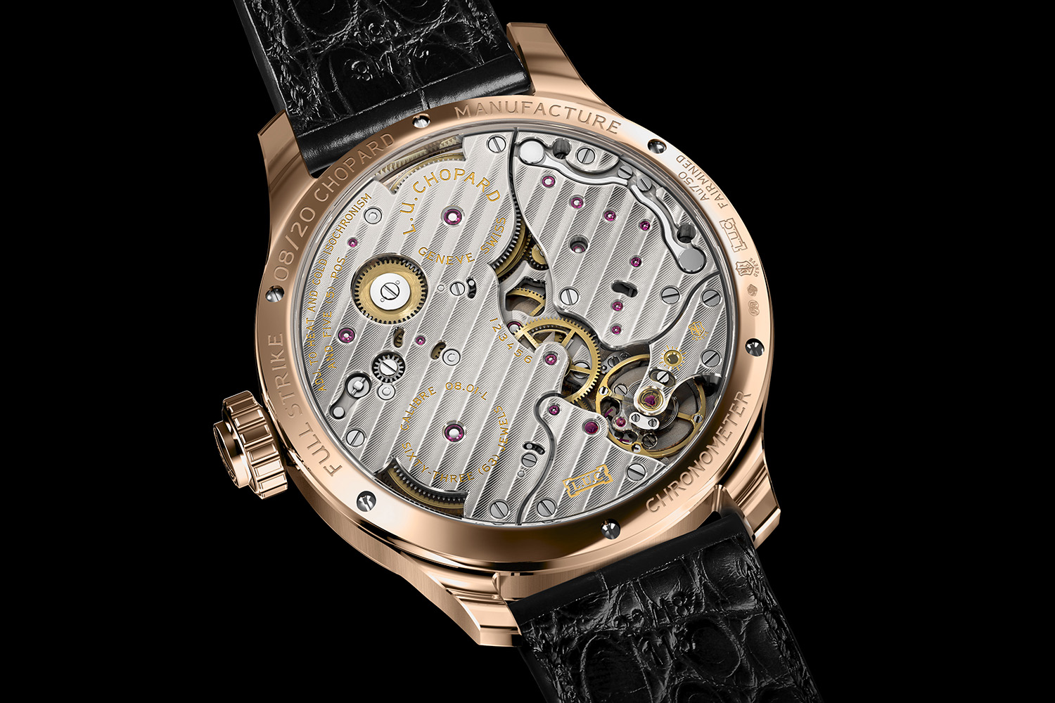 Chopard Full Strike Minute Repeater Sapphire Gongs