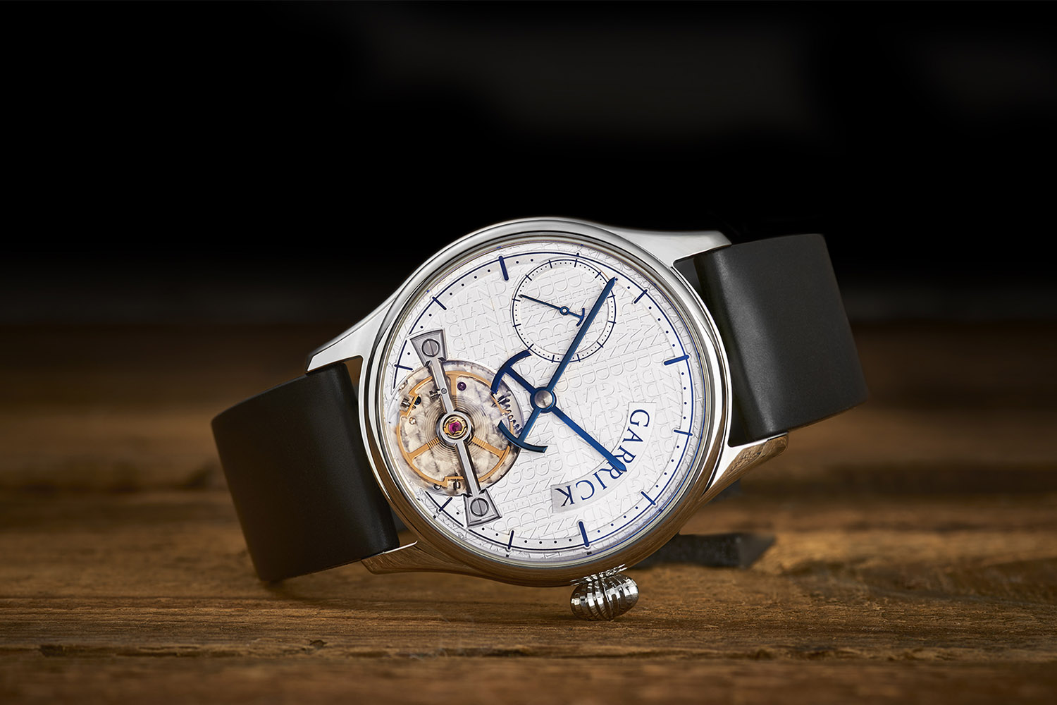Garrick Portsmouth, British watch with proprietary movement by Strehler