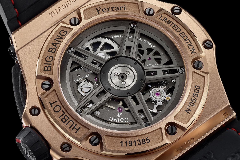 Hublot Big Bang Ferrari Unico Chronograph