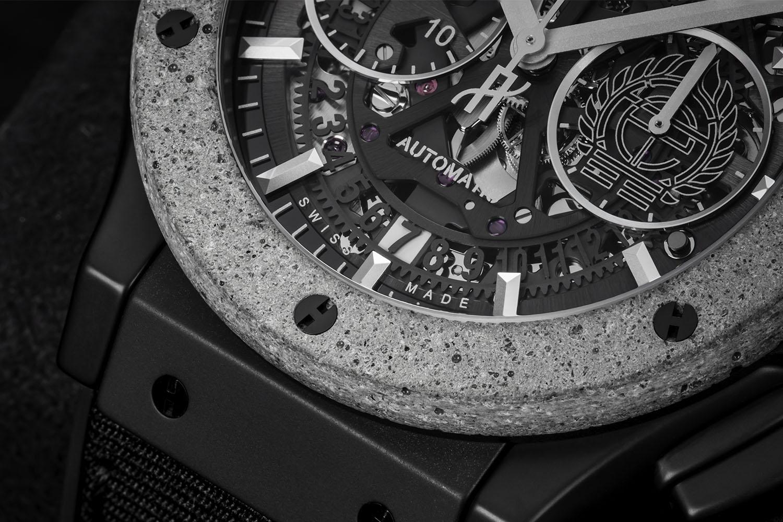 Hublot Classic Fusion Aerofusion Chronograph Concrete Jungle made with Artist Tristan Eaton