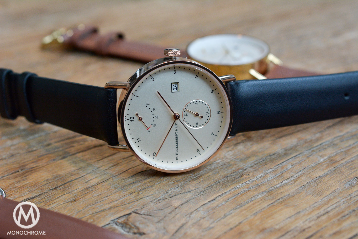 Huckleberry & Co Atticus Watch - Kickstarter
