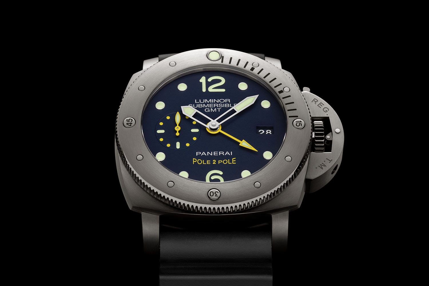 "Panerai Luminor Submersible 1950 3 Days GMT ""Pole2Pole"" - Mike Horn - PAM00719"