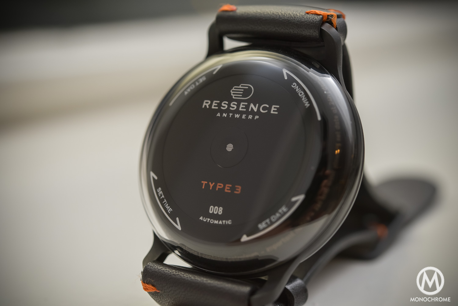 Ressence Type 3BB Black Black - oil Filled watch