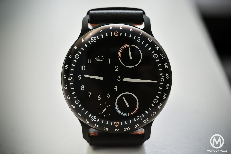 Ressence Type 3BB Black Black - oil Filled watch