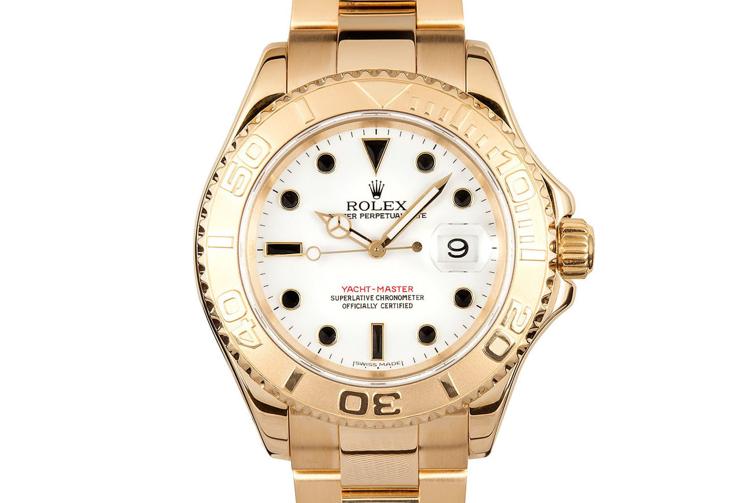 Rolex yacht-Master 16628 Yellow Gold 1992
