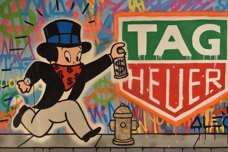 9653d0dce04 TAG Heuer Appoints Alec Monopoly As Art Provocateur   J.C. Biver ...
