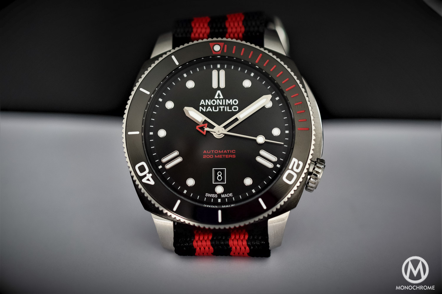 Anonimo Nautilo Sailing Edition - Dive Watch