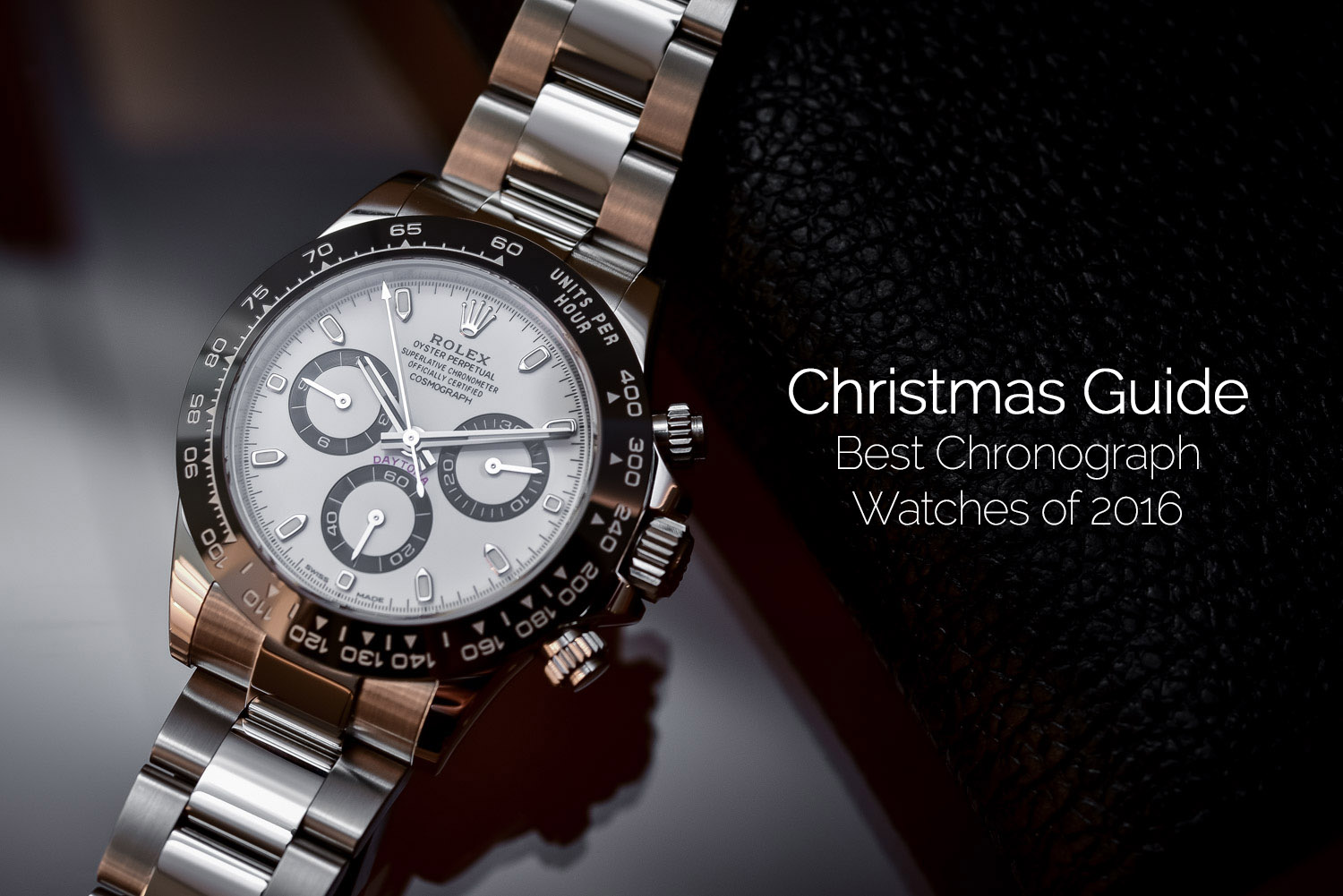 Christmas Shopping Guide - Best Chronograph Watches of 2016