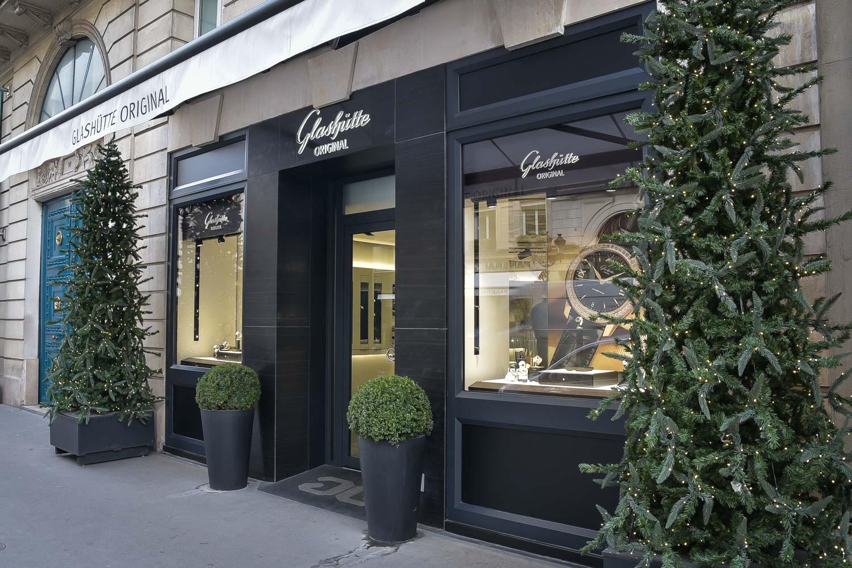 Glashutte Original Boutique Paris Rue de la Paix