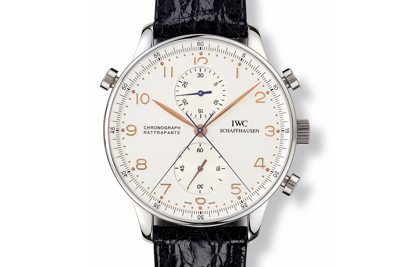 IWC Portugieser Chronograph Rattrapante 1995 Ref. 3712