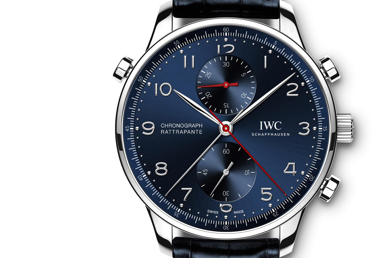 IWC Portugieser Chronograph Rattrapante Edition Boutique Munich Ref. IW371217