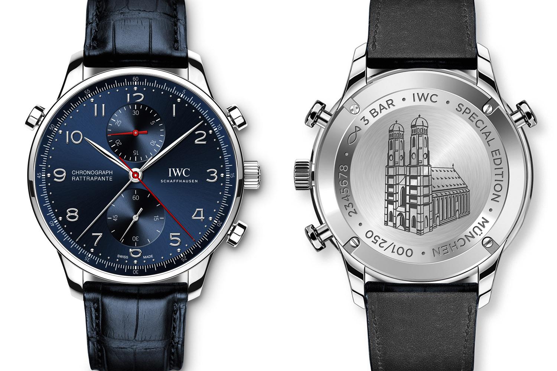IWC Portugieser Chronograph Rattrapante Edition Boutique Munich Ref. IW371217 - 1