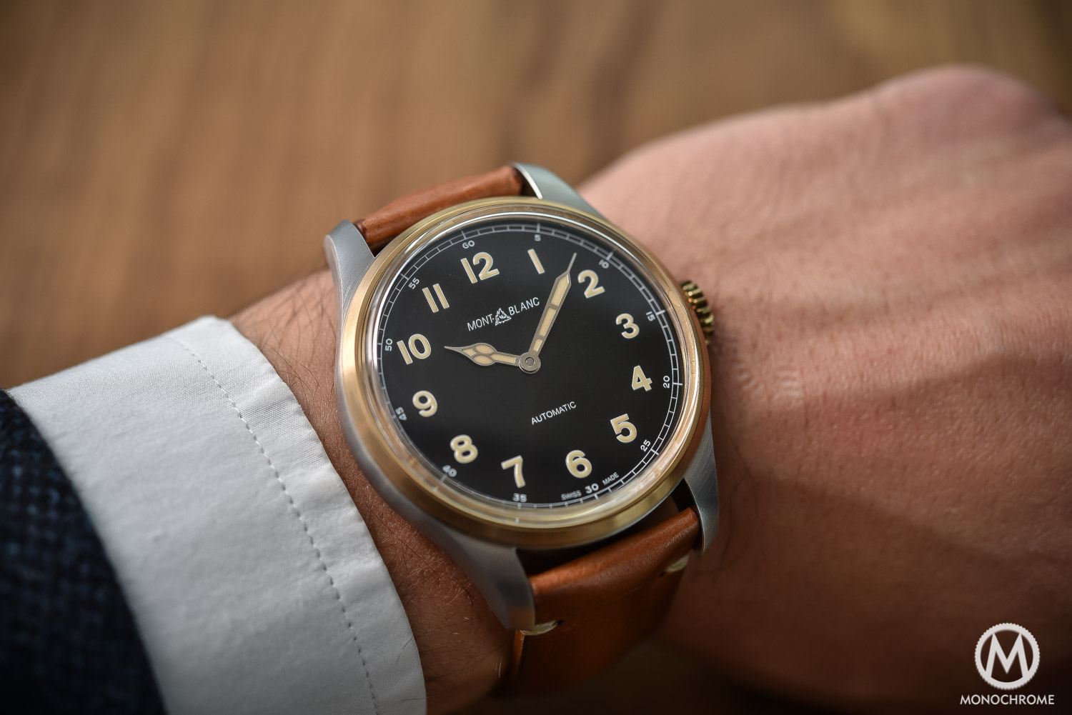 Montblanc 1858 Automatic Bronze - Review Price