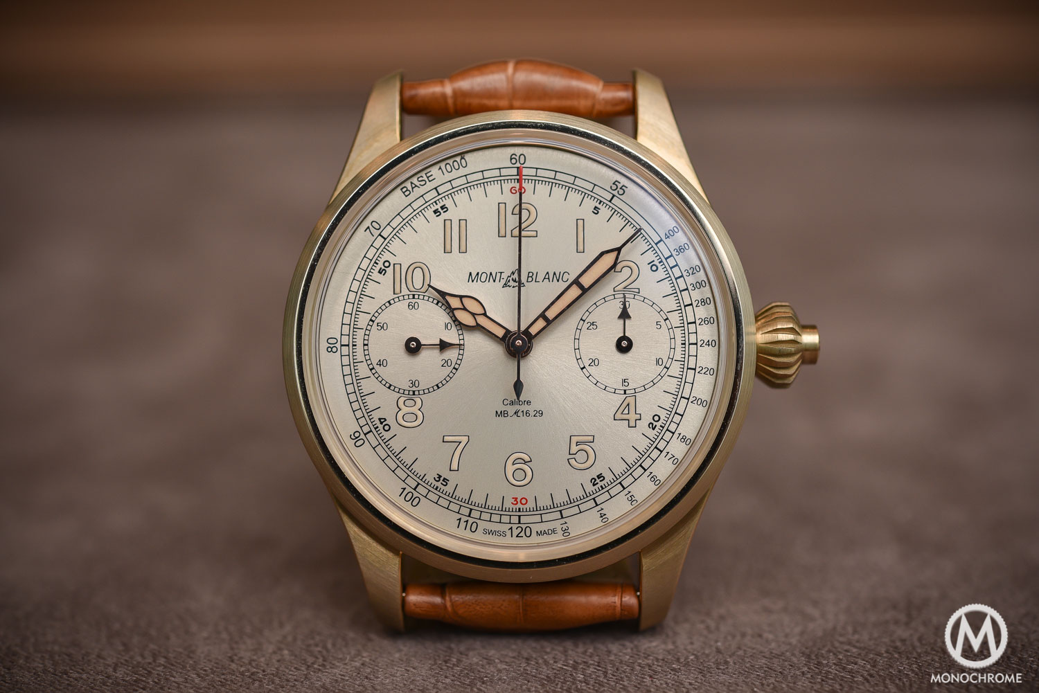 Montblanc 1858 Chronograph Tachymeter Limited Edition Bronze - Review Price