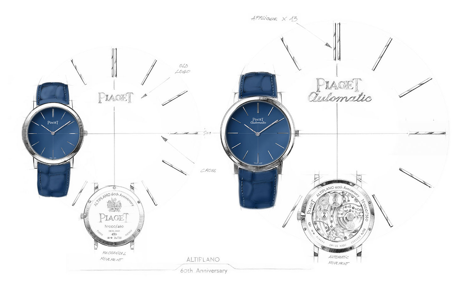 Piaget Altiplano 60th anniversary collection - Pre-SIHH 2017