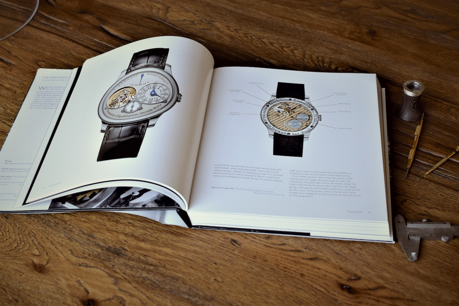 The Wristwatch Handbook by Ryan Schmidt