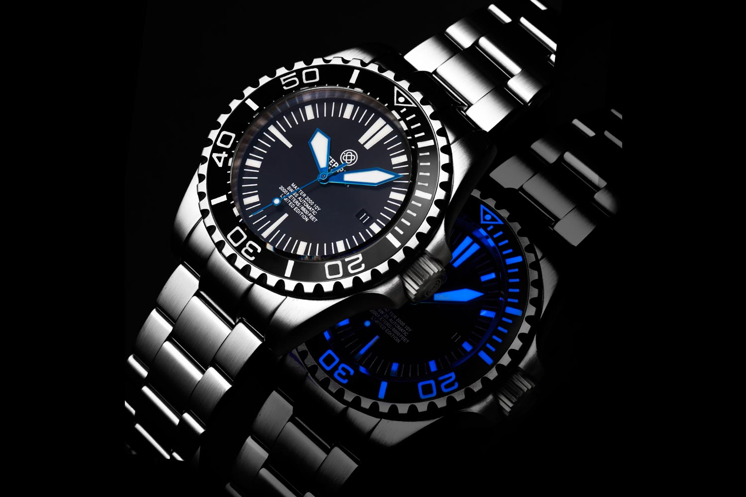 46535e04dc6 Value Proposition  Deep Blue Master 2000 Diver – 10 Years Limited Edition
