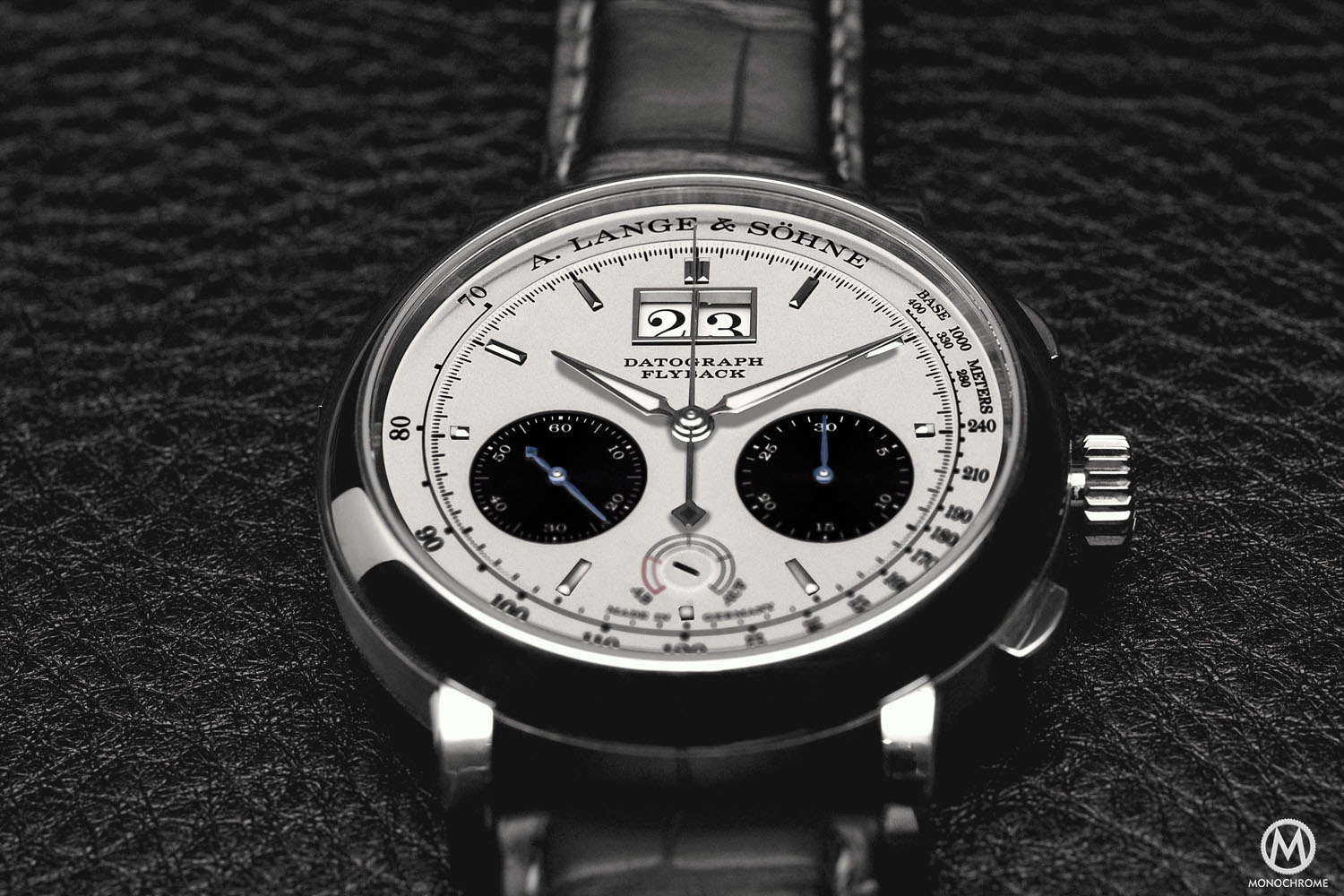 A. Lange & Söhne Datograph Steel Grey Dial
