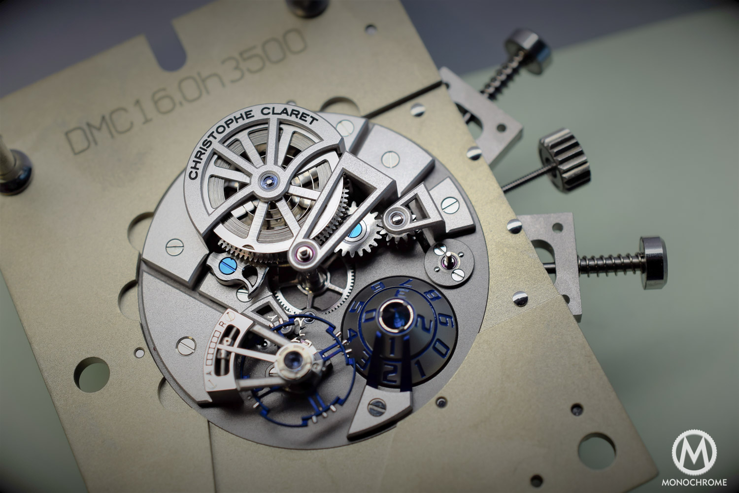 Christophe Claret Maestro - movement preview - 2