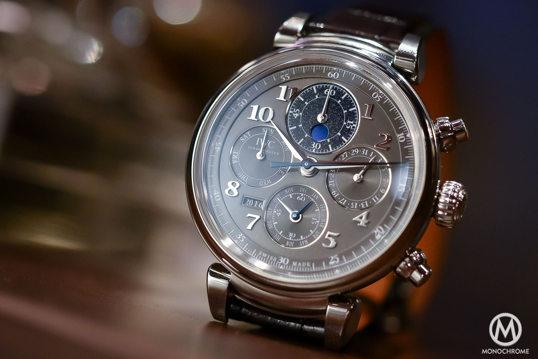 IWC Da Vinci Perpetual Calendar Chronograph Steel