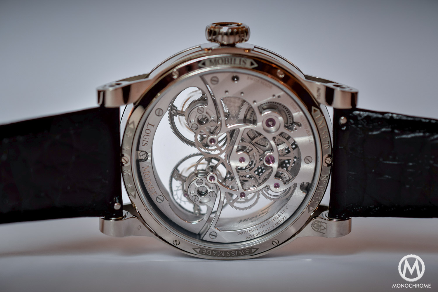 Louis Moinet Mobilis Double Tourbillon Kaleidoscope