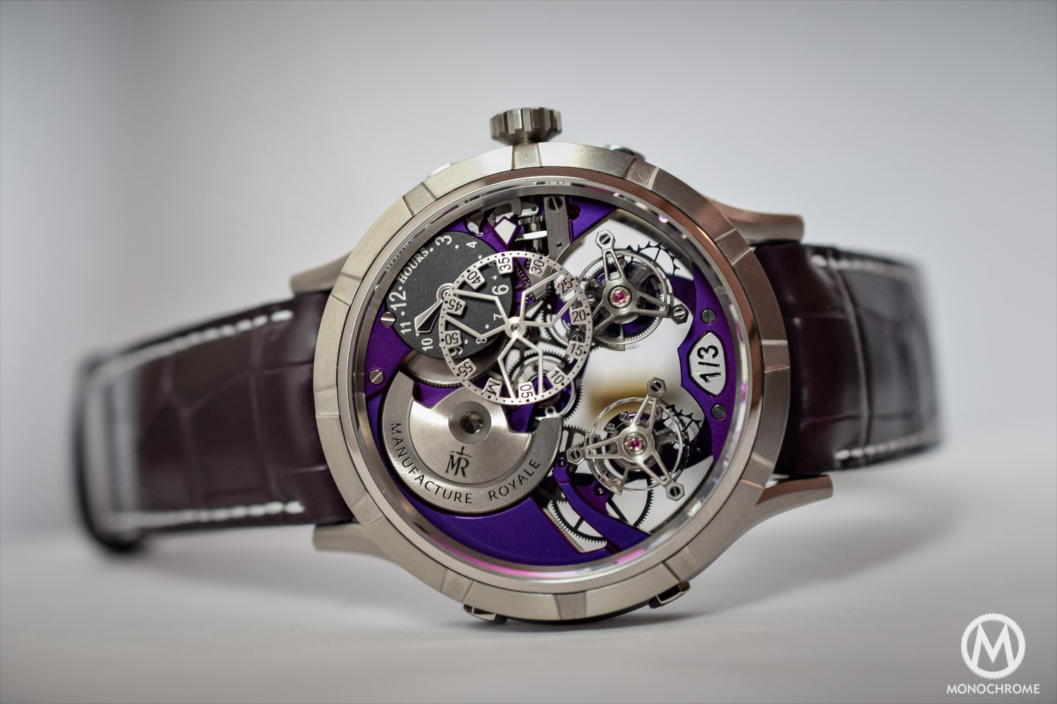 Manufacture Royale 1770 Micromegas Revolution Limited Editions
