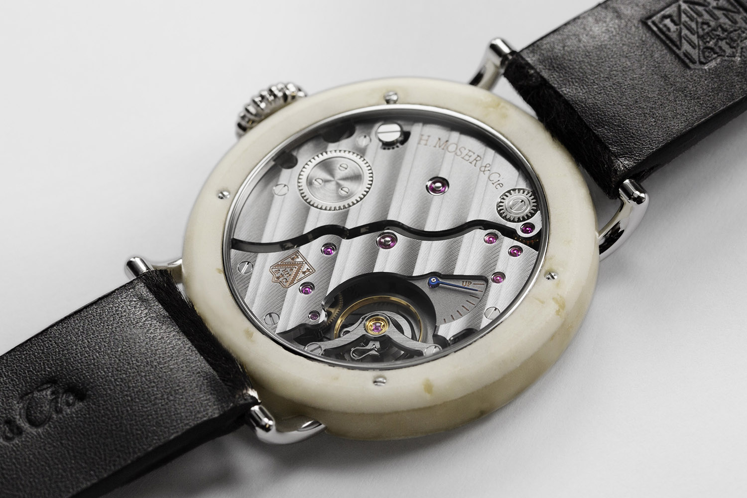 Moser Swiss Mad Watch - Most Swiss Watch Ever with a Swiss Cheese case