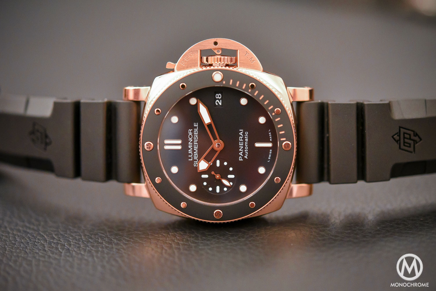 Panerai Luminor Submersible 1950 3 Days Automatic Oro Rosso 42mm PAM00684 - SIHH 2017