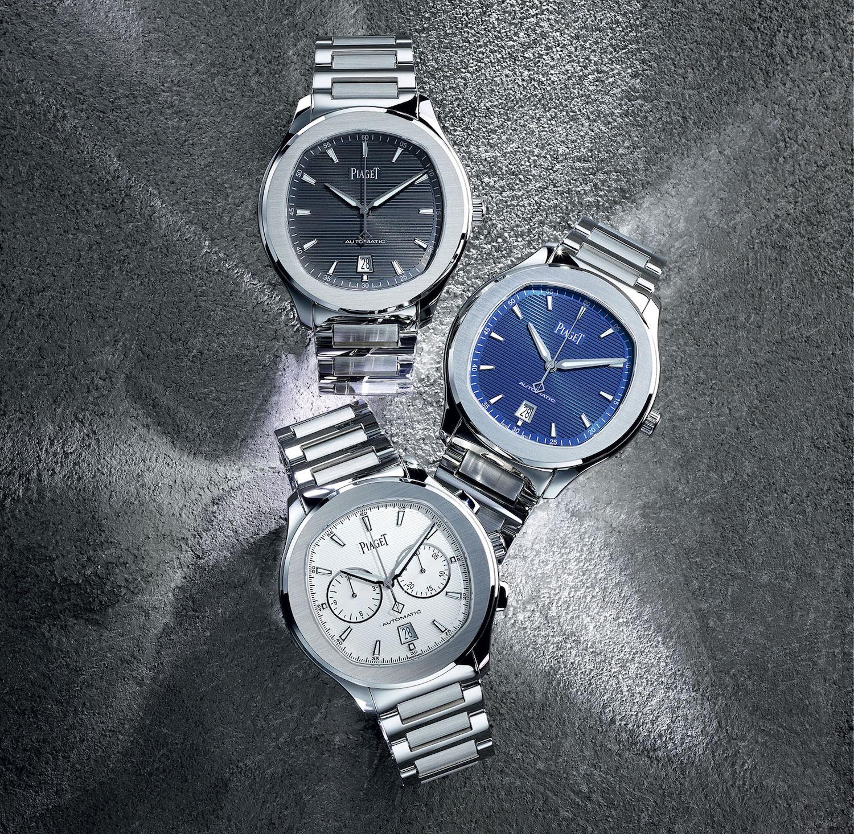 Piaget Polo S Steel 2016 3-hand chronograph