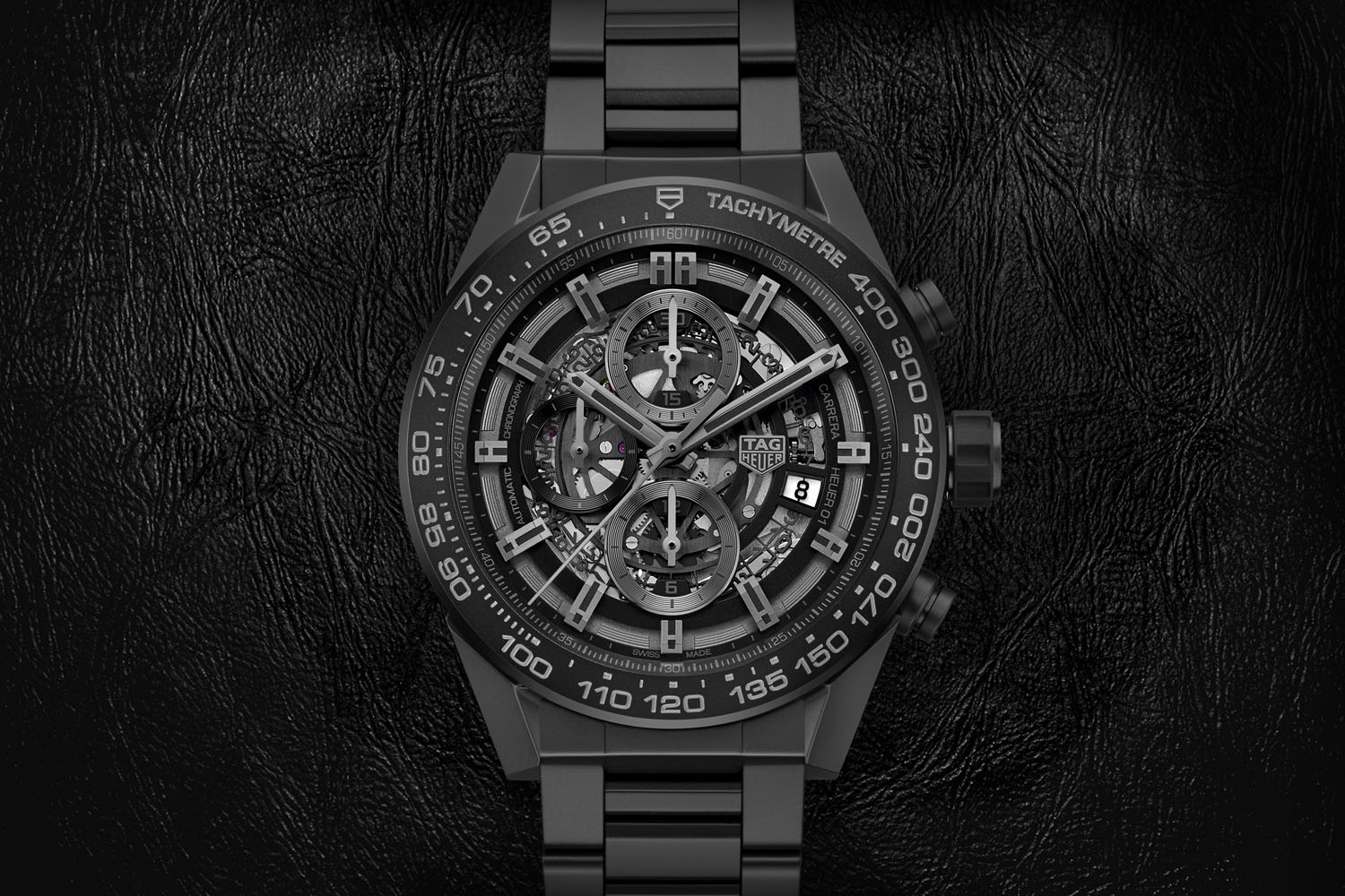 TAG Heuer Carrera Heuer 01 Full Black Matt Ceramic