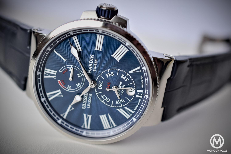 Ulysse Nardin Marine Annual Calendar Chronometer