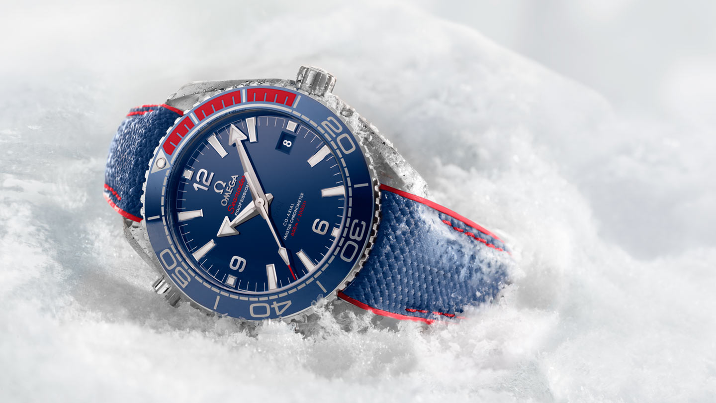 Omega Seamaster Planet Ocean 600m Pyeongchang 2018 Limited Edition