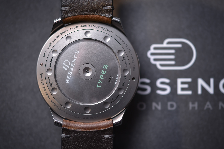 Ressence Type 5G Grey Titanium