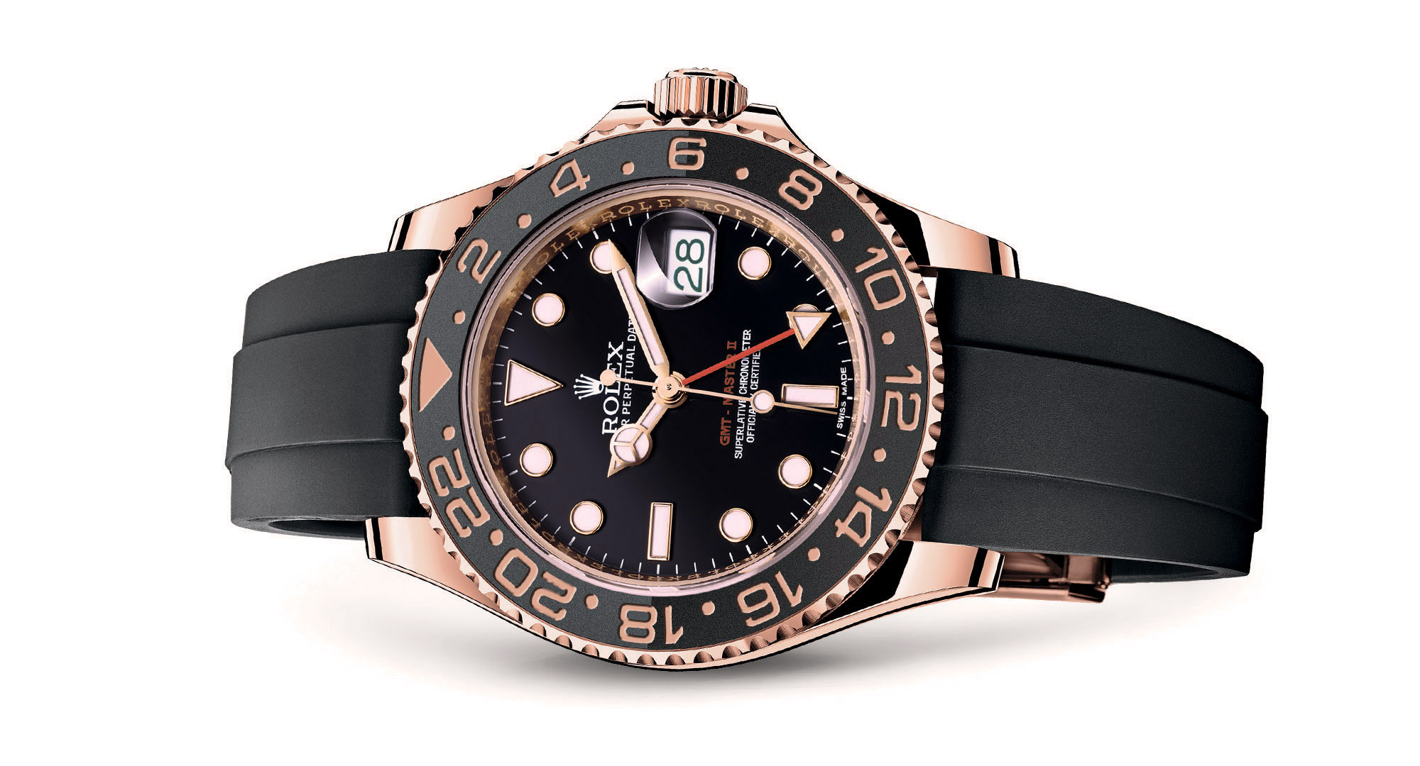 Rolex GMT Master II Pink Gold Rubber Strap - Rolex Baselworld 2017 - Rolex Predictions 2017