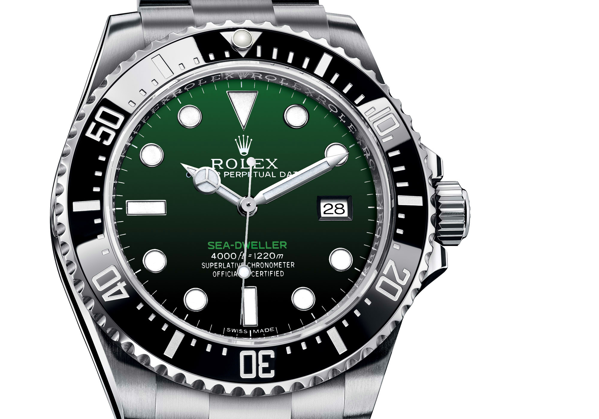 Rolex Sea Dweller 50th anniversary Gradient Green Dial - Rolex Baselworld 2017 - Rolex Predictions 2017